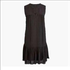 J.Crew Ruffle Hem Shift Dress Size XXS